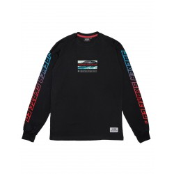 T-SHIRT JACKER ADRENALINE LS - BLACK