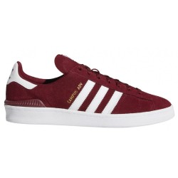 CHAUSSURES ADIDAS SB CAMPUS ADVANCE - BURGUNDY WHITE