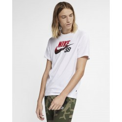 T-SHIRT NIKE SB DRI-FIT LOGO NBA - WHITE