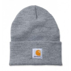 BONNET CARHARTT WIP ACRYLIC WATCH HAT - GREY HEATHER