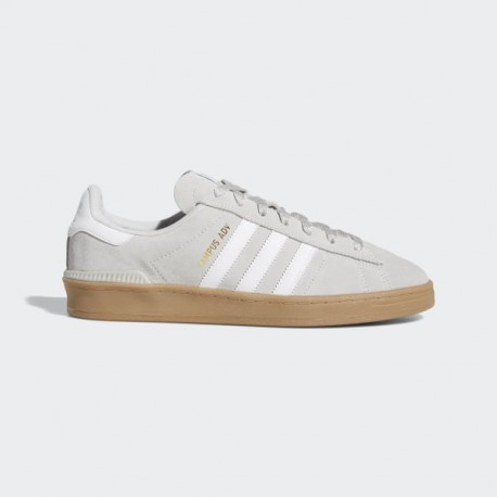CHAUSSURE ADIDAS CAMPUS ADV - GREY/WHITE/GOLD