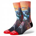 CHAUSSETTES STANCE ANTHEM SHAWN BARBER - RED
