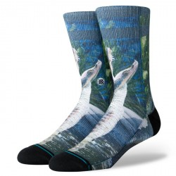CHAUSSETTES STANCE FOUNDATION ALBERTA - BLUE