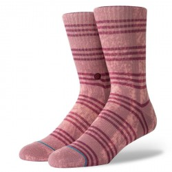 CHAUSSETTES STANCE FOUNDATION KURT - ROSE SMOKE