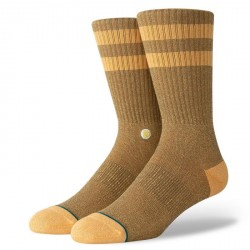 CHAUSSETTES STANCE UNCOMMON SOLIDS JOVEN - MUSTARD