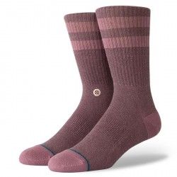 CHAUSSETTES STANCE UNCOMMON SOLIDS JOVEN - ROSE SMOKE