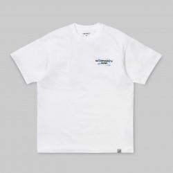 T-SHIRT CARHARTT S/S FOAM - WHITE