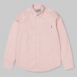 CHEMISE CARHARTT BUTTON DOWN POCKET SHIRT - PEACH