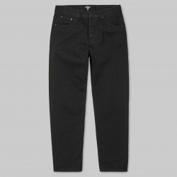 PANTALON CARHARTT WIP NEWEL - BLACK RINSED