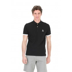 POLO PICTURE ORGANIC HUTY - BLACK