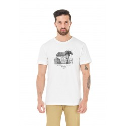 T-SHIRT PICTURE ORGANIC SURF CLUB - WHITE