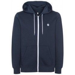 SWEAT ELEMENT CORNELL CLASSIC ZIP - ECLIPSE NAVY