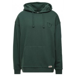 SWEAT ELEMENT YAWYD MILK HOODIE - KALE
