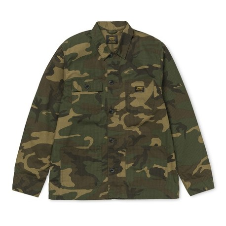CHEMISE CARHARTT WIP MICHIGAN SHIRT JAC - CAMO LAUREL