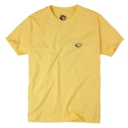 T-SHIRT MAGENTA JUNGLE 2 TEE - YELLOW