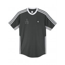 T-SHIRT ADIDAS MACLEAY SHERZEY - SOLID GREY LIGHT GRANITE WHITE