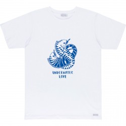 T-SHIRT BASK IN THE SUN UNDERWATER LOVE - WHITE