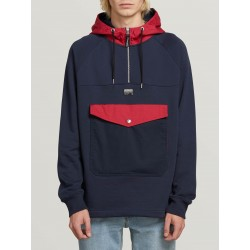 SWEAT VOLCOM ALARIC PULLOVER - NAVY