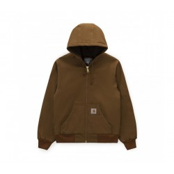 VESTE CARHARTT ACTIVE JACKET - HAMILTON BROWN