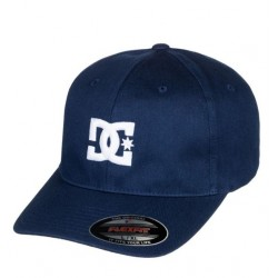CASQUETTE DC SHOES FLEXFIT CAPSTAR 2 - BLUE