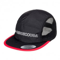 CASQUETTE DC SHOES BLUNTERS - BLACK RED