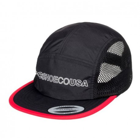 CASQUETTE DC BLUNTERS - BLACK RED