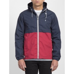 VESTE VOLCOM HOWARD HOODED - BURGUNDY