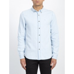 CHEMISE VOLCOM BAYOND L/S - LIGHT BLUE