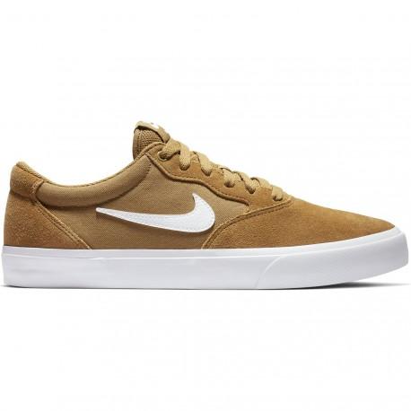 d547666654e7c Chaussures Nike Sb Chron Slr - Beige Dore