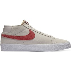 CHAUSSURE NIKE SB BLAZER CHUKKA - VAST GREY TEAM CRIMSON
