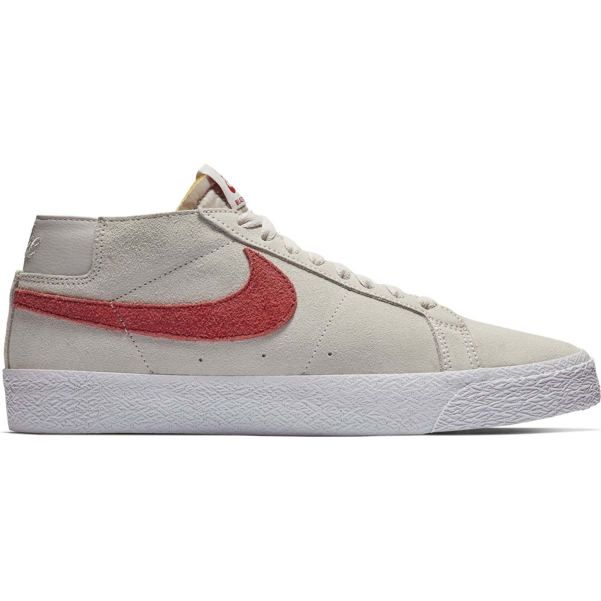 Chaussure Nike Sb Blazer Chukka Vast Grey Team Crimson