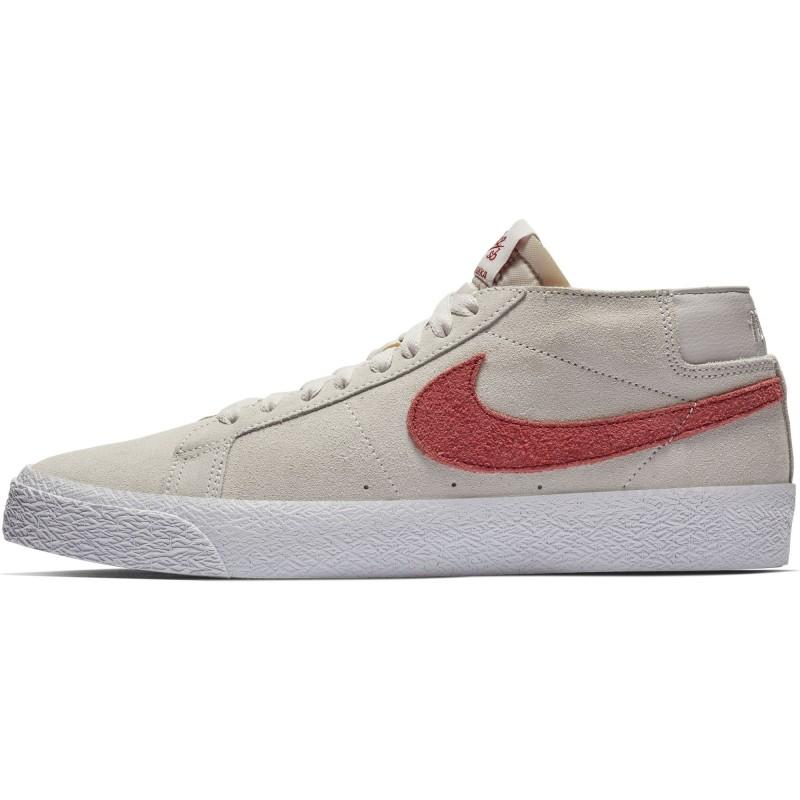 Chaussure Nike Sb Blazer Chukka Vast Grey Team Crimson