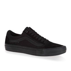 CHAUSSURES VANS OLD SKOOL PRO - BLACKOUT