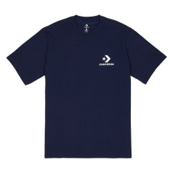 T-SHIRT CONVERSE CONS LEFT CHEST STAR - OBSIDIAN