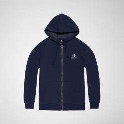 SWEAT CONVERSE CONS STAR CHEVRON HOOD ZIP -