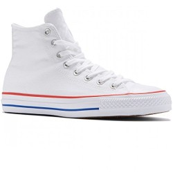 CHAUSSURES CONVERSE CHUCK TAYLOR ALL STAR HIGH PRO - WHITE RED