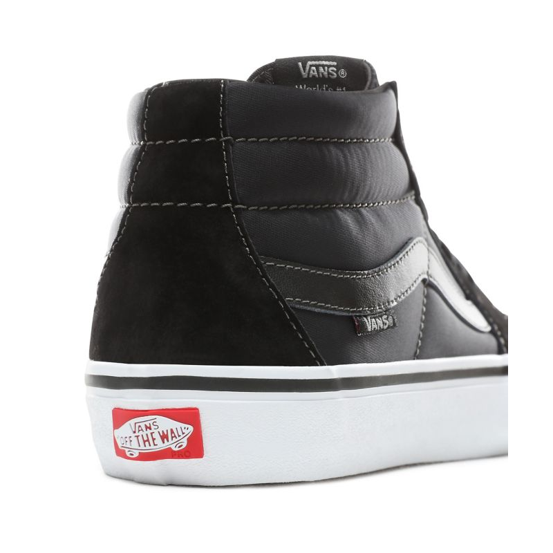 Sk8 Pro Black Hero Vans Chaussures Mid Grosso Anti shQrdCtBx