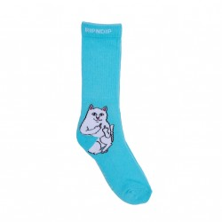 CHAUSSETTES RIPNDIP LORD NERMAL SOCKS - BABY BLUE