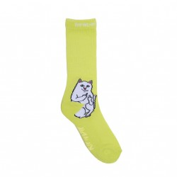 CHAUSSETTES RIPNDIP LORD NERMAL SOCKS - SAFETY GREEN