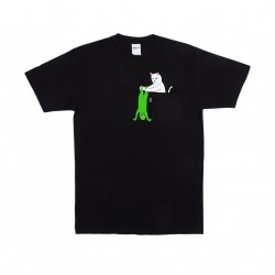 T-SHIRT RIPNDIP BREAK YO SELF POCKET TEE - BLACK