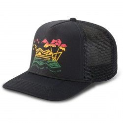 CASQUETTE DAKINE ELECTRIC SUNSET TRUCKER - BLACK