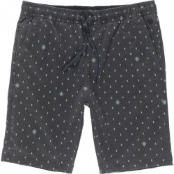 SHORT ELEMENT ALTONA PRINT - OFF BLACK