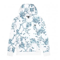 SWEAT HUF HIGHLINE HOOD -WHITE