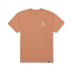 T-SHIRT HUF ESSENTIAL TRIPLE TRIANGLE - CANYON SUNSET