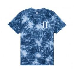 T-SHIRT HUF CLASSIC H TIE DYE - INSIGNIA BLUE
