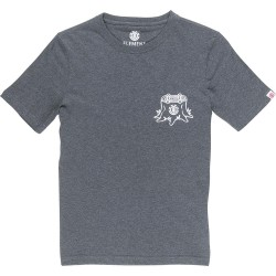 T-SHIRT ELEMENT STUMP - CHARCOAL HEATHER