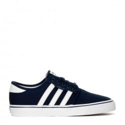 CHAUSSURES ADIDAS SEELEY JUNIOR - NAVY WHITE