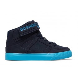 CHAUSSURES DC SHOES PURE HIGH TOP TX EVER KID - NAVY BRIGHT BLUE