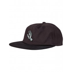 CASQUETTE SANTA CRUZ SCREAMING MONO HAND - BLACK