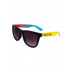 LUNETTES SANTA CRUZ FADE HAND - BLACK YELLOW